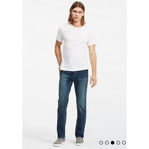 Calvin Klein Jeans Relaxed Straight Jeans 36x30